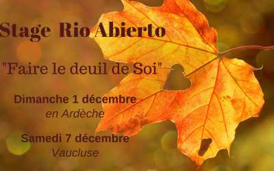Stage Rio Abierto Faire le deuil de Soi